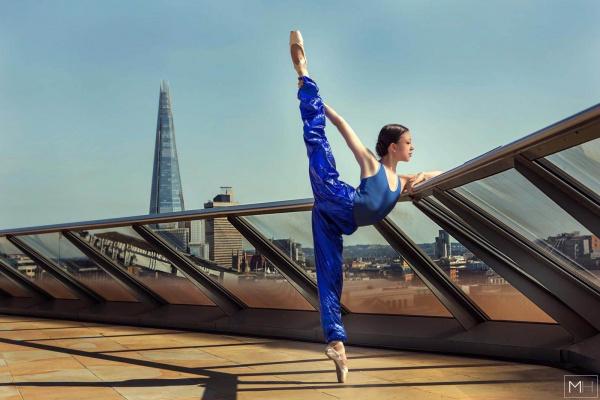 Sapphire Warmup Trousers Ballet Mafia